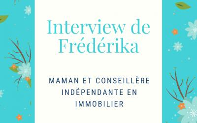 Frédérika, conseillère indépendante en immobilier